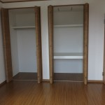 F様邸 2階洋室 収納