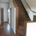 F様邸 階段・廊下