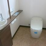 F様邸 トイレ